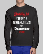 DENMARK GLAEDELIG JUL MUG T-SHIRT HOODIE Long Sleeve Tee lifestyle-unisex-longsleeve-front-1