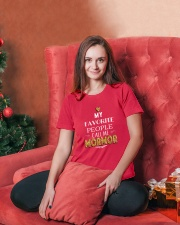 DANISH CALL MORMOR Ladies T-Shirt lifestyle-holiday-womenscrewneck-front-2