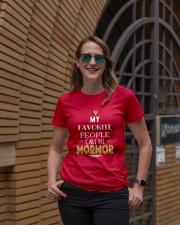 DANISH CALL MORMOR Ladies T-Shirt lifestyle-women-crewneck-front-2