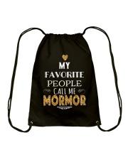 DANISH CALL MORMOR Drawstring Bag thumbnail