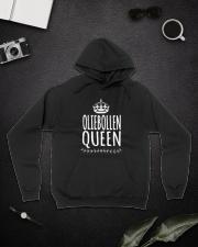 DUTCH OLIEBOLLEN QUEEN Hooded Sweatshirt lifestyle-unisex-hoodie-front-9