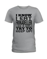DANISH FRIKADELLER Ladies T-Shirt thumbnail