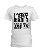 DANISH FRIKADELLER Ladies T-Shirt front