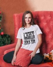 DANISH FRIKADELLER Ladies T-Shirt lifestyle-holiday-womenscrewneck-front-2