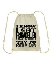 DANISH FRIKADELLER Drawstring Bag thumbnail