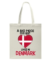 DENMARK A BIG PIECE OF MY HEART Tote Bag thumbnail