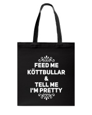 SWEDISH KOTTBULLAR Tote Bag thumbnail