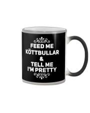 SWEDISH KOTTBULLAR Color Changing Mug thumbnail