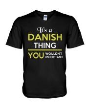 DANISH THING V-Neck T-Shirt thumbnail