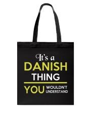 DANISH THING Tote Bag thumbnail