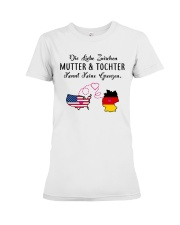 GERMAN MUTTER UND TOCHTER Premium Fit Ladies Tee thumbnail