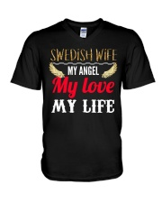SWEDISH WIFE V-Neck T-Shirt thumbnail