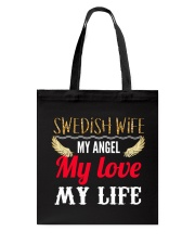 SWEDISH WIFE Tote Bag tile