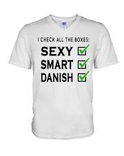 DANISH SEXY SMART V-Neck T-Shirt thumbnail