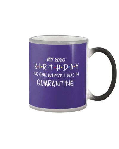 My 2020 birthday the one where I was in quarantine