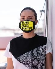 Black Lives Matter Face Mask  Cloth face mask aos-face-mask-lifestyle-04