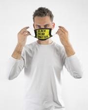 Black Lives Matter Face Mask  Cloth face mask aos-face-mask-lifestyle-08