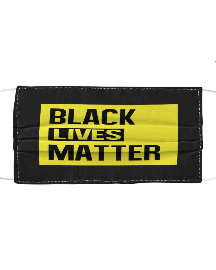 Black Lives Matter Face Mask  Cloth face mask