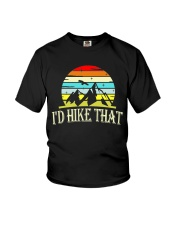 i'd hike that Youth T-Shirt tile