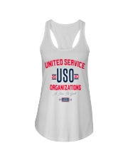 uso org t shirt Ladies Flowy Tank thumbnail