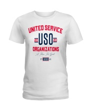 uso org t shirt Ladies T-Shirt tile