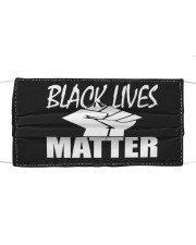 black lives matter Cloth face mask thumbnail