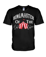 Ring-Master-of-The-Shit-Show V-Neck T-Shirt thumbnail