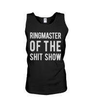 Mens-Ringmaster-Of-The-Shitshow Unisex Tank thumbnail