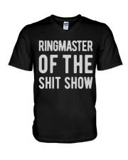 Mens-Ringmaster-Of-The-Shitshow V-Neck T-Shirt thumbnail