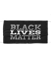 black live matter Cloth face mask thumbnail