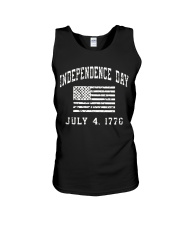 independence day usa Unisex Tank thumbnail