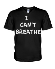 i can't breathe george floyd V-Neck T-Shirt thumbnail