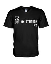 5 2-but-my-attitude-6 1 V-Neck T-Shirt thumbnail