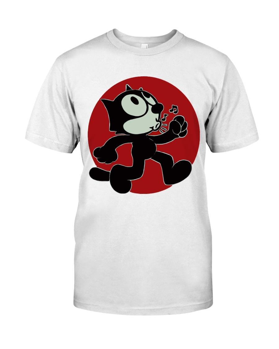 cat runner Classic T-Shirt