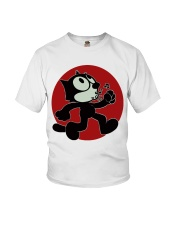 cat runner Youth T-Shirt thumbnail
