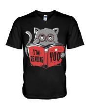 I'M-READING-YOU V-Neck T-Shirt thumbnail