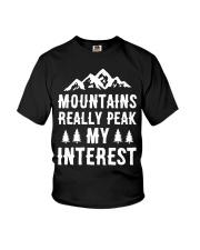 MOUNTAIN REALLY PEAK MY INTEREST Youth T-Shirt thumbnail