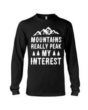 MOUNTAIN REALLY PEAK MY INTEREST Long Sleeve Tee thumbnail