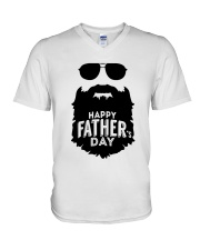 happy fathers day V-Neck T-Shirt thumbnail