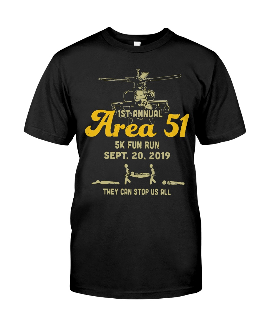 1st-annual-area-51-5k-fun-run-sept Classic T-Shirt