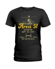 1st-annual-area-51-5k-fun-run-sept Ladies T-Shirt thumbnail