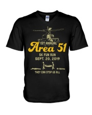 1st-annual-area-51-5k-fun-run-sept V-Neck T-Shirt thumbnail