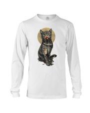 Cute Cat Long Sleeve Tee thumbnail
