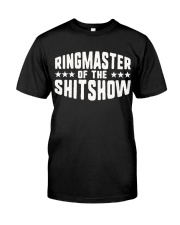 Mens-Ringmaster-Of-The-Shitshow Classic T-Shirt front