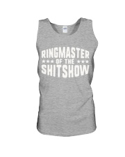 Mens-Ringmaster-Of-The-Shitshow Unisex Tank tile