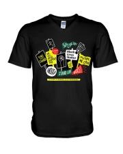 black lives matter - BLM V-Neck T-Shirt thumbnail