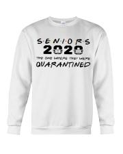 seniors 2020 the one where they were quarantined Crewneck Sweatshirt thumbnail