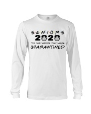 seniors 2020 the one where they were quarantined Long Sleeve Tee thumbnail