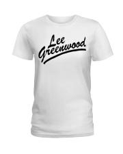 lee greenwood t shirt Ladies T-Shirt thumbnail