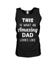 This is What An Amazing Dad Looks Like Unisex Tank thumbnail